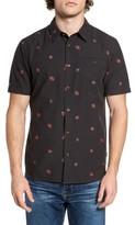O'Neill Men's Brees Floral Print Woven Shirt