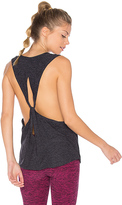 Beyond Yoga Dim The Lightweight Looped Tank in Charcoal. - size L (also in )