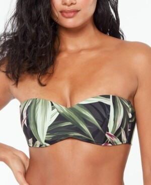 Bar III Bandeau Bikini Top, Created for Macy's Women's Swimsuit