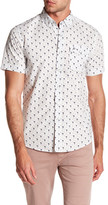 Heritage Flamingo Print Slim Fit Sport Shirt