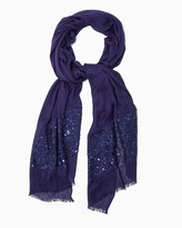 Charming charlie Sequin Social Scarf