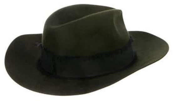 e0da291ff Felt Fedora Hat Green Felt Fedora Hat