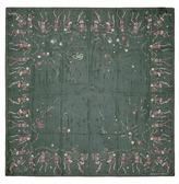 Alexander McQueen 'Funny Bones Dance' skull print silk chiffon scarf
