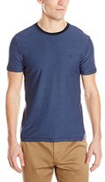 Original Penguin Men's Short Sleeve Reverse Feeder Stripe T-Shirt
