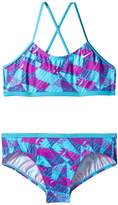 Nike Graphic Crossback Bikini Girl's Swimwear Sets