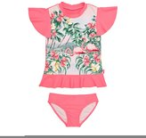 Seafolly Hawaiian Rose Rashie Set