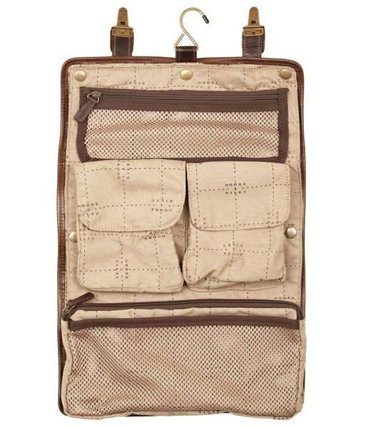 "Moore & Giles Fine Leather Hanging Dopp Kit ""Austin"""