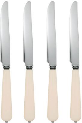 OKA Small Ivory Knives, Set of 4 - Cream