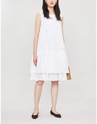 Merlette New York Cevennes sleeveless cotton mini dress