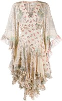 Etro flared wide-sleeves dress