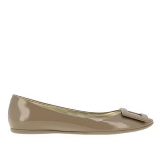 Roger Vivier Gommette Patent Leather Ballerina
