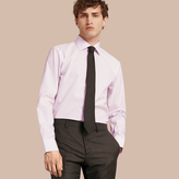 Burberry Modern Fit Double-cuff Striped Cotton Shirt