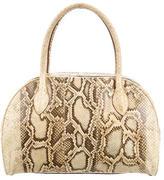Alaia Python Bowler Bag