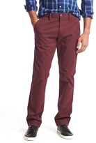 Classic stretch slim fit khakis