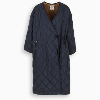Baum und Pferdgarten Blue Daenerys quilted wrap coat