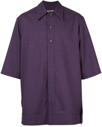 Necessity Sense oversized henley shirt
