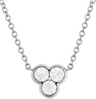 Hearts On Fire 18K 0.33 Ct. Tw. Diamond Effervescence Pendant Necklace