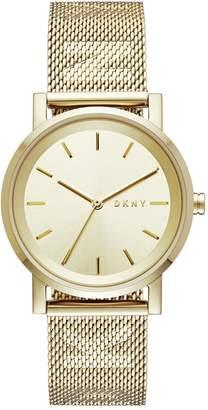 DKNY Ladies' Soho NY2621 Gold Tone Bracelet Watch