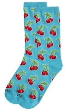Me Moi MeMoi Cherries Women's Novelty Socks