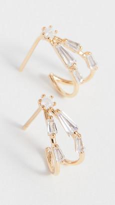 Theia Aubrey Petite Hoop Earrings