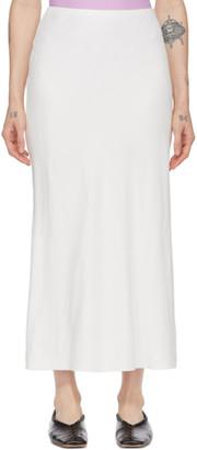 Studio Nicholson Off-White Boon Skirt
