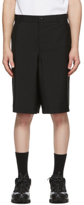 Burberry Black Cut-Out Boy Fit Shorts