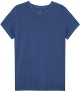 120% Lino Crew-Neck T-Shirt