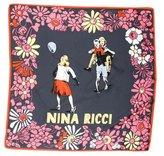 Nina Ricci Printed Silk Scarf