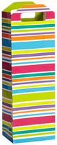 Container Store Bright Stripes Bottle Tote