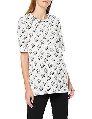 Scotch & Soda Maison Women's Allover Printed Tee T-Shirt,X-Small
