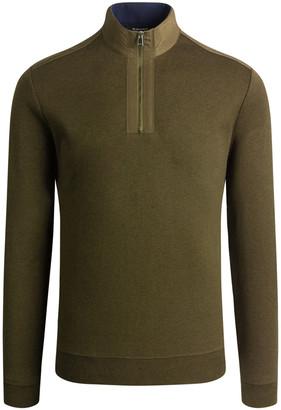 Bugatchi Men's Long-Sleeve Quarter-Zip Knit Shirt