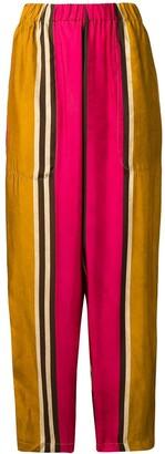 UMA WANG Striped Trousers