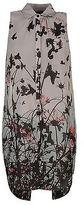 Firetrap Womens Sleeveless Shirt Lightweight Pattern Warm Chest Pocket