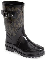 MICHAEL Michael Kors Toddler Girl's 'Daisy Logo' Rain Boot