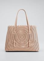 Alaia Mina Large Lux Vienne Tote Bag