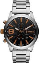 Diesel Men's Chronograph Rasp Chrono 46 Stainless Steel Bracelet Watch 46mm
