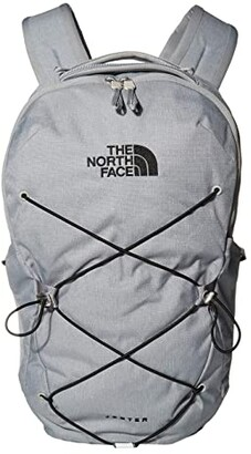 The North Face Jester Backpack (Mid Grey Dark Heather/TNF Black) Backpack Bags