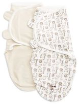 Little Me Two-Pack Swaddling Blanket Set