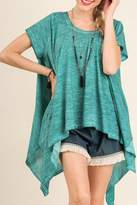 Umgee USA Turquoise Top