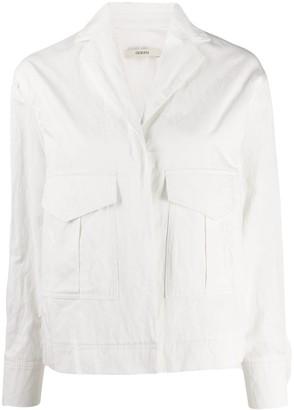 Odeeh Flap-Pocket Denim Jacket
