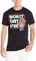 Disney Men's Mr. Potato Head Worst Day Men's T-Shirt