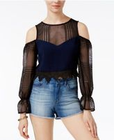 Endless Rose Off-The-Shoulder Illusion Top
