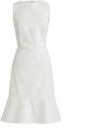 J.Crew Women's Casual Dresses IVORY - Ivory Francine Pique Sheath Dress - Women