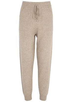 Jonathan Simkhai Mina Taupe Knitted Sweatpants