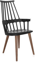 Kartell Comback Four Legs Chair - Black/Oak