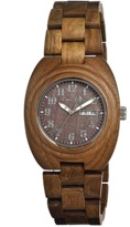 Earth Wood Hilum Bracelet Watch.