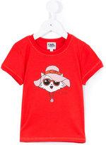 Karl Lagerfeld Choupette T-shirt - kids - Cotton/Modal - 6 yrs