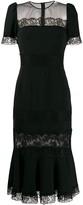 Dolce & Gabbana lace sheer panel dress