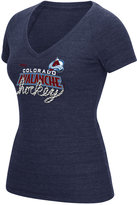 Reebok Women's Colorado Avalanche Laced Up T-Shirt