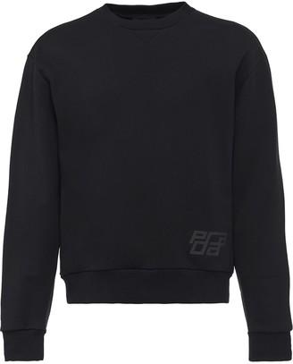 Prada Logo Print Sweatshirt